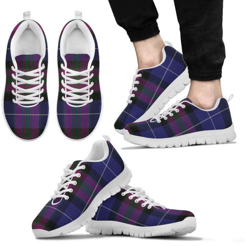 Pride Of Scotland Tartan Sneakers - Bn Mens Sneakers White / Us5 (Eu38)