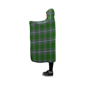 Pringle Tartan Hooded Blanket - M One Size / Hooded Blanket 50X40 Blankets