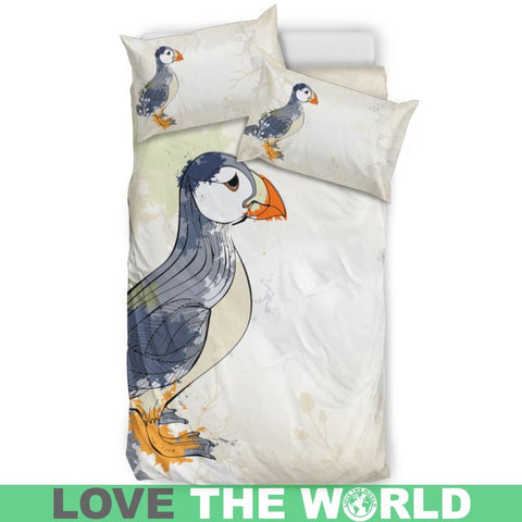Puffin In Iceland Bedding Set C1 Sets