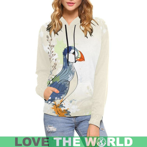 Puffin In Iceland Hoodie C1 All Over Print Hoodies