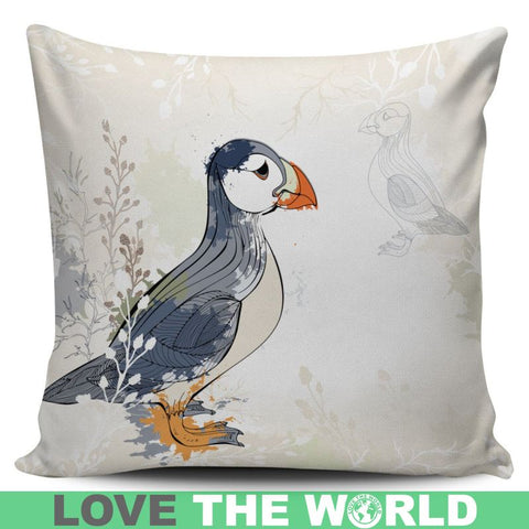 Puffin In Iceland Pillow C1 Pillows