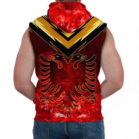 Image of Albania Sleeveless Hoodie - New Release A7
