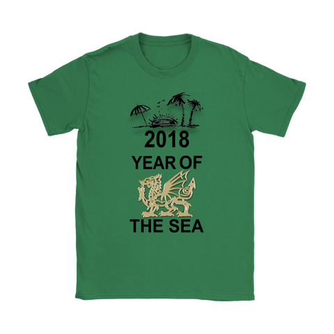 wales dragon t-shirts, year of the sea