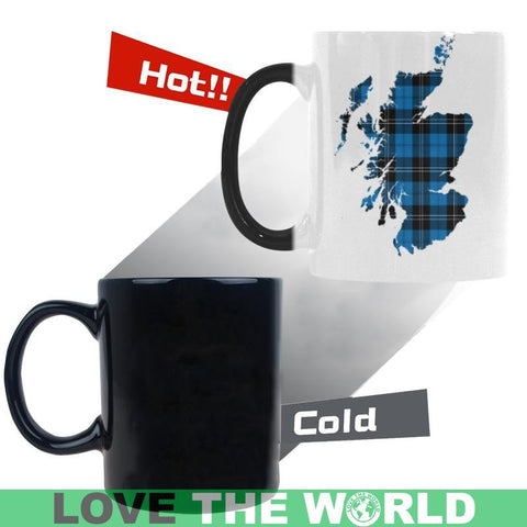 Ramsay Blue Ancient In Me Tartan Morphing Mug W9 Mugs