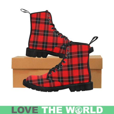 Image of Ramsay Modern Tartan Martin Boots | Scotland Boots | Over 500 Tartans
