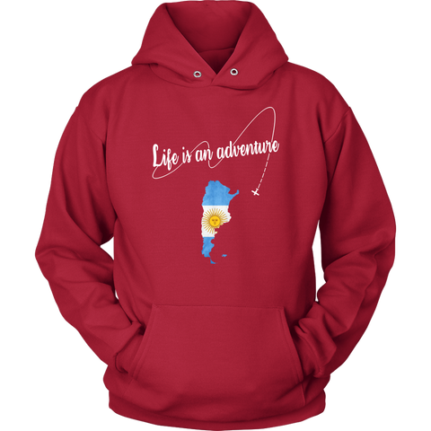 Argentina Life is An Adventure T-shirt H5