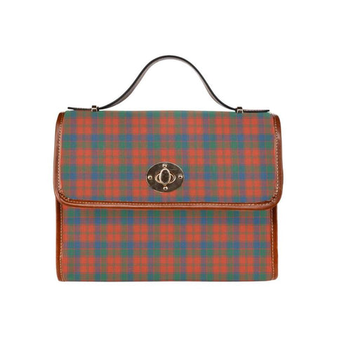 Robertson Ancient Tartan Canvas Bag | Waterproof Bag | Scottish Bag
