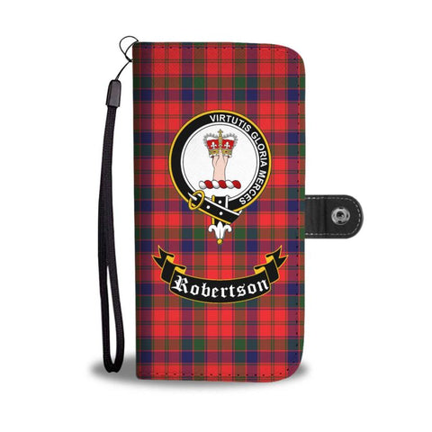 Tartan Wallet Case - Robertson Clan | Scottish Wallet Case | 1sttheworld