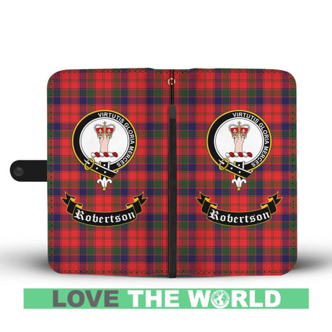 Image of Tartan Wallet Case - Robertson Clan | Scottish Wallet Case | 1sttheworld