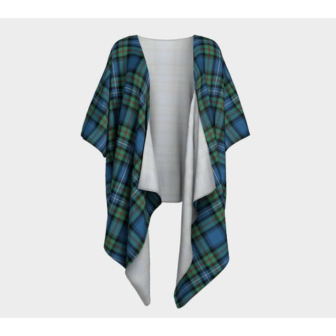 Robertson Hunting Ancient Tartan Draped Kimono - Bn |Women's Clothing| 1sttheworld