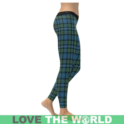 Robertson Hunting Ancient Tartan Legging S1 Low Rise Leggings