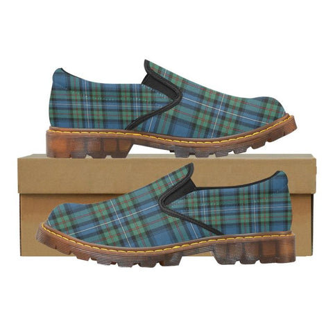 Tartan Martin Loafer - Robertson Hunting Ancient | Men's Casual Loafers | Tartan shoes