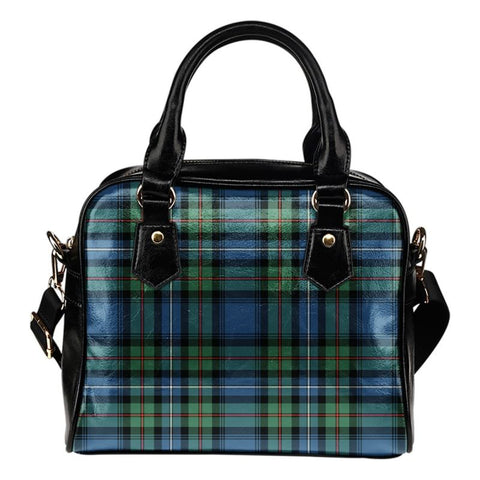 Tartan Shoulder Handbag - Robertson Hunting Ancient