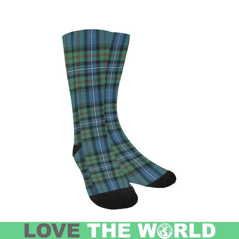 Robertson Hunting Ancient Tartan Trouser Socks Hj4