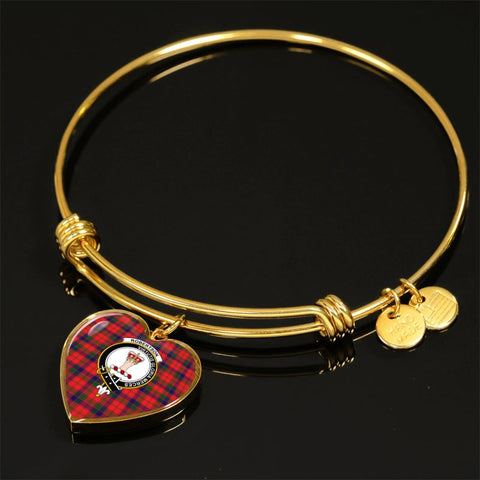Robertson Modern Tartan Golden Bangle - Bn01 Adjustable Bangle Jewelries