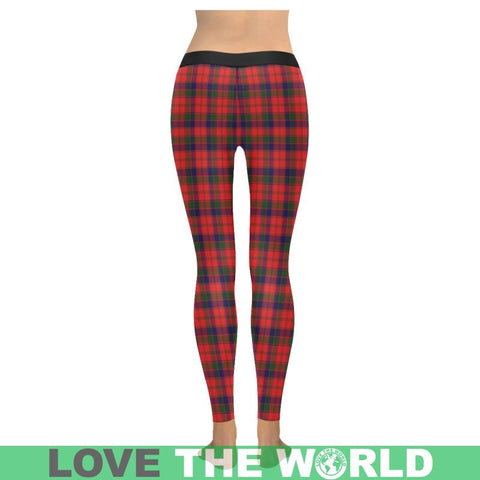Robertson Modern Tartan Legging S1 Low Rise Leggings