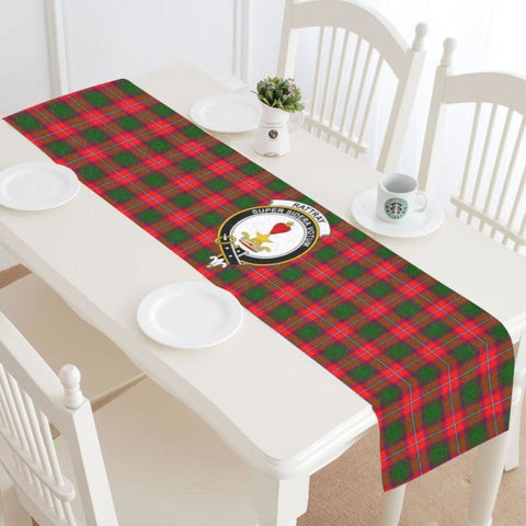 Image of Robertson Modern Tartan Table Runner - Bn Runners