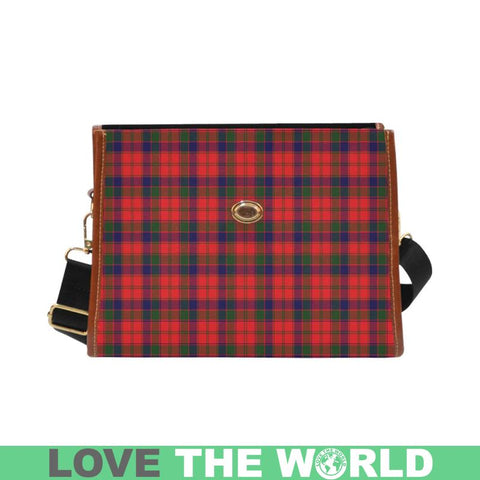 Robertson Modern Tartan Canvas Bag | Waterproof Bag | Scottish Bag