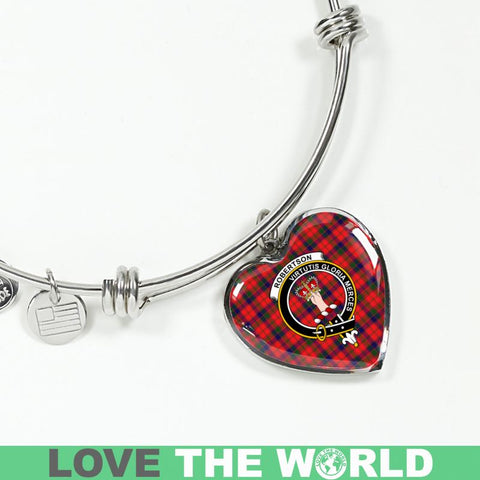 Robertson Tartan Silver Bangle - Sd1 Jewelries