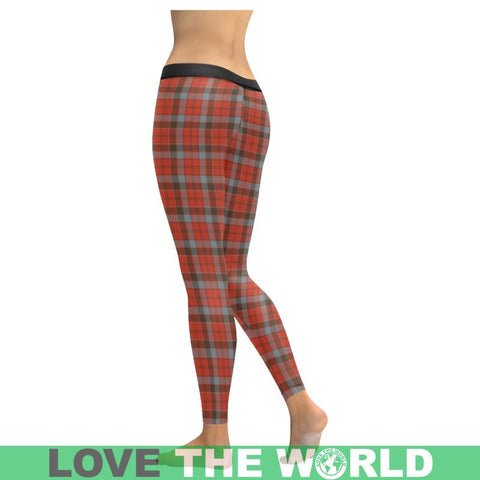 Robertson Weathered Tartan Legging S1 Low Rise Leggings