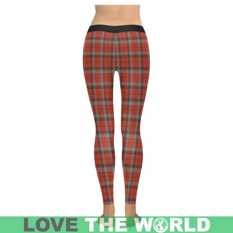Image of Robertson Weathered Tartan Legging S1 Low Rise Leggings