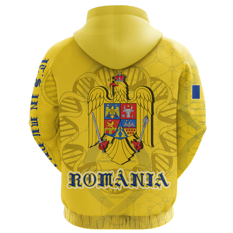 Image of Romania DNA Zip Hoodie K5