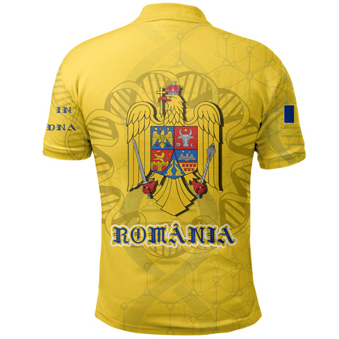 Romania DNA Polo Shirt K5