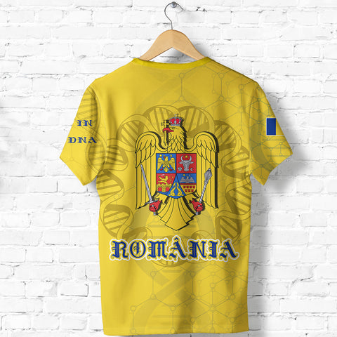 Romania DNA T shirt K5