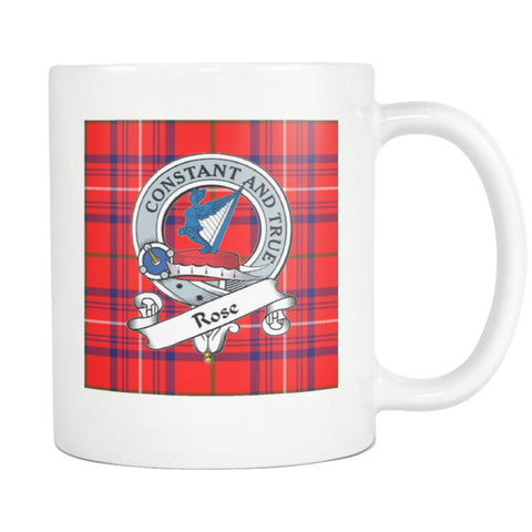 Image of Rose Tartan Mug Ha4 N4 Mugs