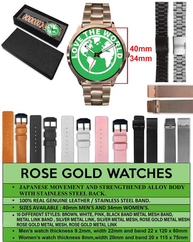 Image of Swiss Coin Rose Gold Watch 8 K18