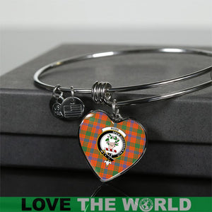 Ross Ancient Tartan Silver Bangle - BN