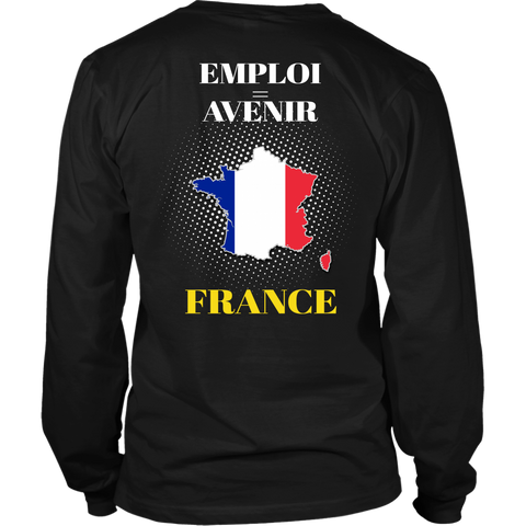 France T-shirt Never Underestimate Women A10