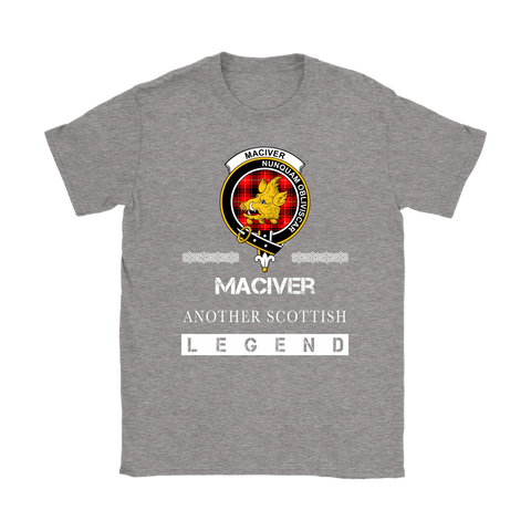 MacIver Scottish Legend T-shirt And Hoodie A9