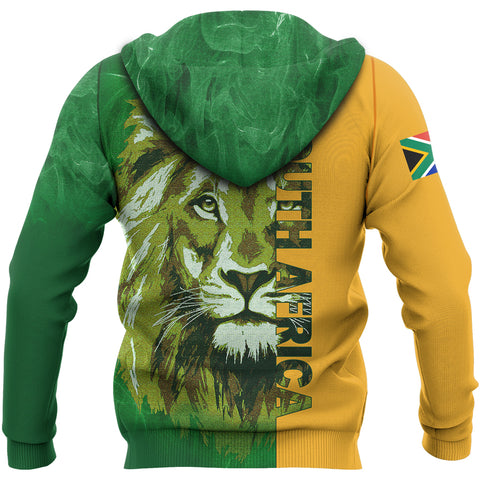 South Africa Lion Hoodie | Men & Women | Clothing