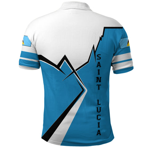 Saint Lucia Polo Shirt Lightning A02