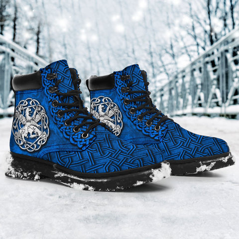 Image of Scotland All Season Boots Lion Celtic Knot