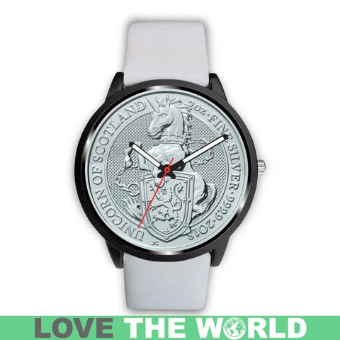 Image of Scottish Coins Leather-Steel Watch K5 |Men and Women| 1sttheworld