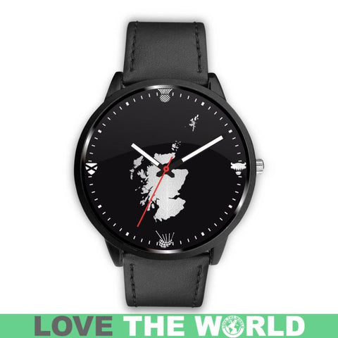 Scotland Cultural Leather/Steel Watch A3 |Men and Women| 1sttheworld