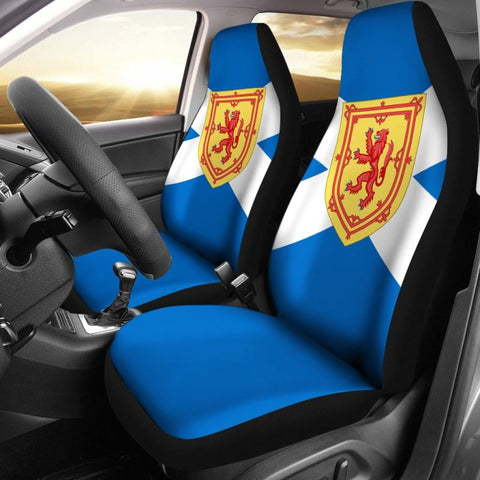 Scottish Royal Flag Car Seat Cover - scottish royal flag, scotland flag, car seat covers, seat covers, seat covers, online shopping, accessories