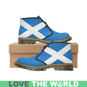SCOTLAND FLAG CHUKKA BOOT A1