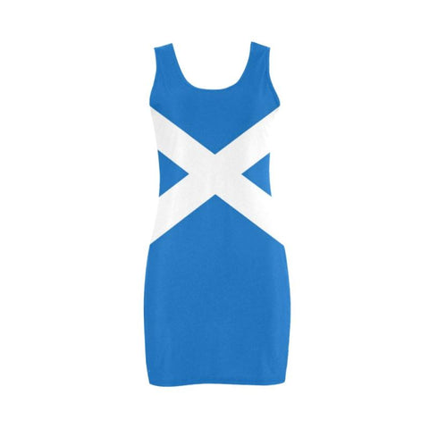 Scotland Flag Medea Vest Dress A1 Dresses