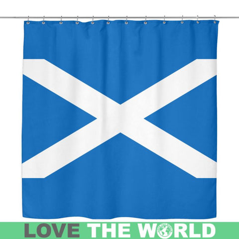 Image of Scotland Flag Shower Curtain Y Y2 Curtains