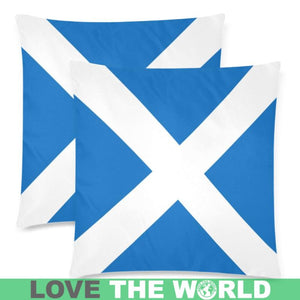 SCOTLAND FLAG ZIPPERED PILLOW A0