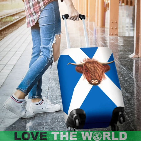Scotland - Highland Cow Luggage Cover A0 Covers
