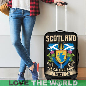 SCOTLAND IS CALLING AND I MUST GO LUGGAGE COVER A2