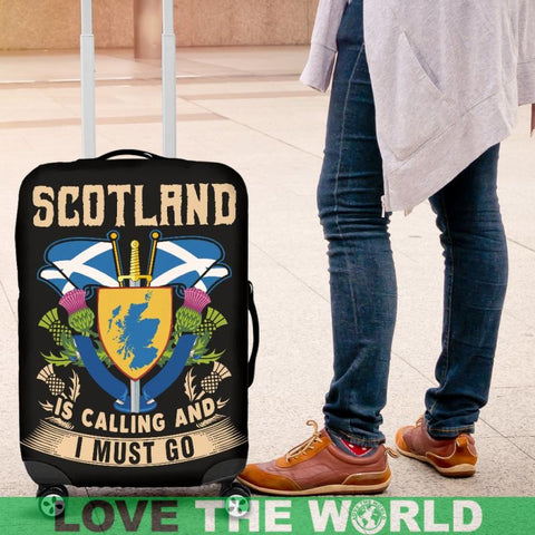 Scotland Is Calling And I Must Go Luggage Cover A2 Covers
