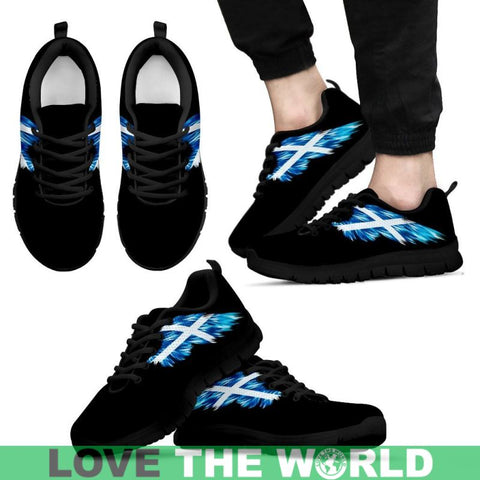 Scotland (Mens / Womens) Sneakers A9 Womens - Black Us5 (Eu35) Sneakers