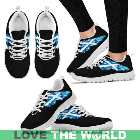 Image of Scotland (Mens / Womens) Sneakers A9 Womens - Black Us5 (Eu35) Sneakers