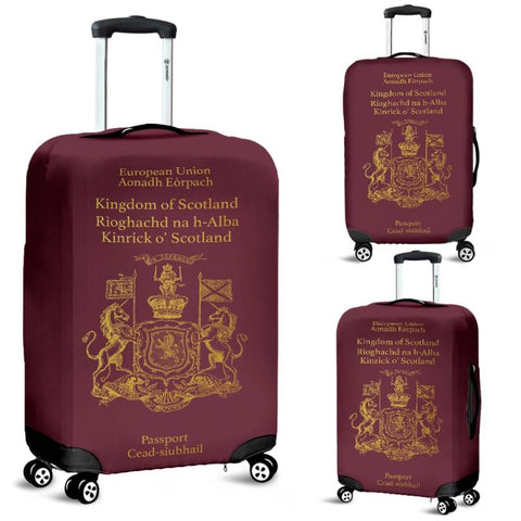 Scotland Passport Luggage Covers - Bn01