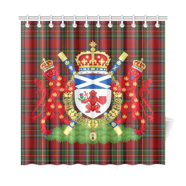 Scotland The Lord Lyon King Shower Curtain Lovetheworld